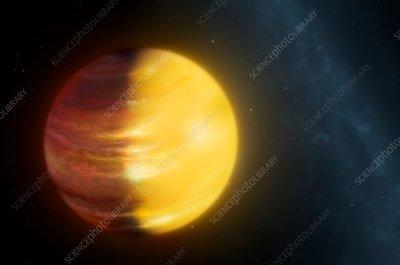 Extrasolar Planet HAT-P-7b