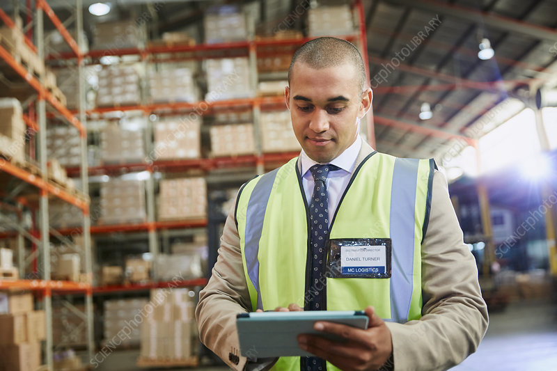 Manager in distribution warehouse