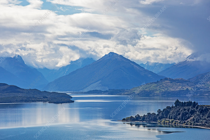 Lake and mountains, Glenorchy, New Zealand