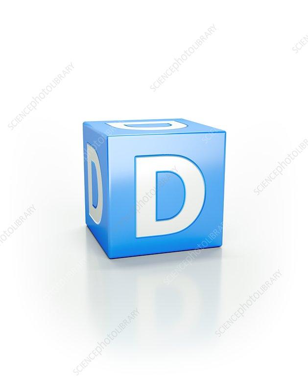 Blue cube, D