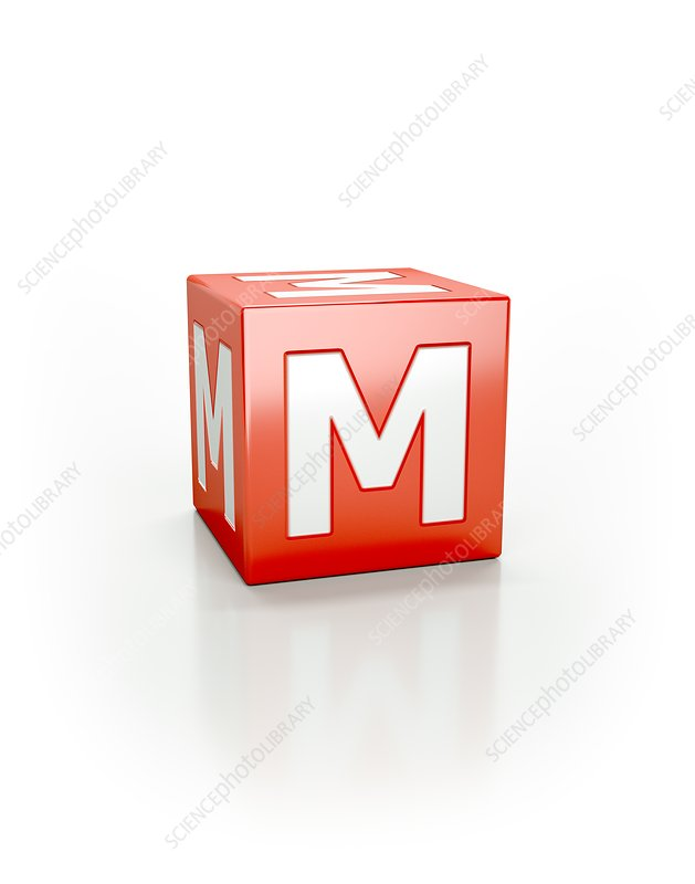 Red cube M