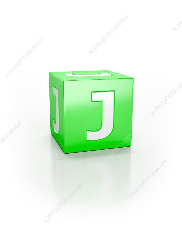 Green cube, J