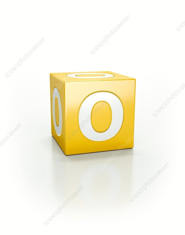 Yellow cube, O