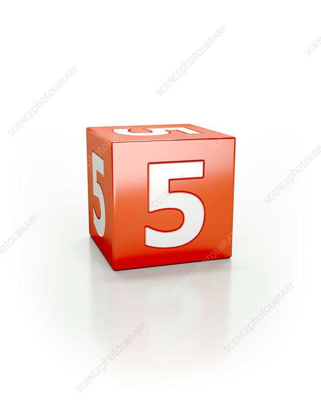 Red cube, 5