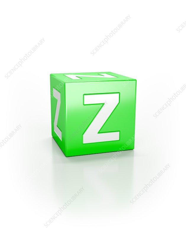 Green cube, Z