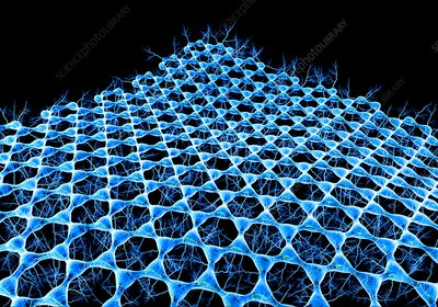 Graphene sheet, illustration