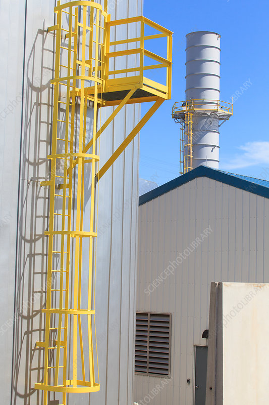 Electric cogeneration power plant