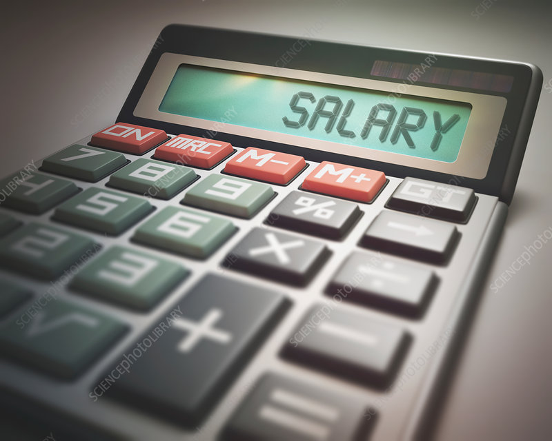 Calculator with salary
