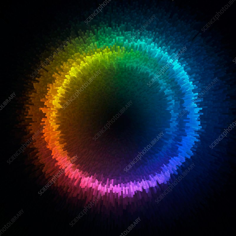 Multicoloured circle