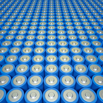 Battery or supercapacitor array