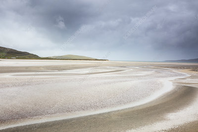 Tranquil sandy beach, Hebrides, Scotland