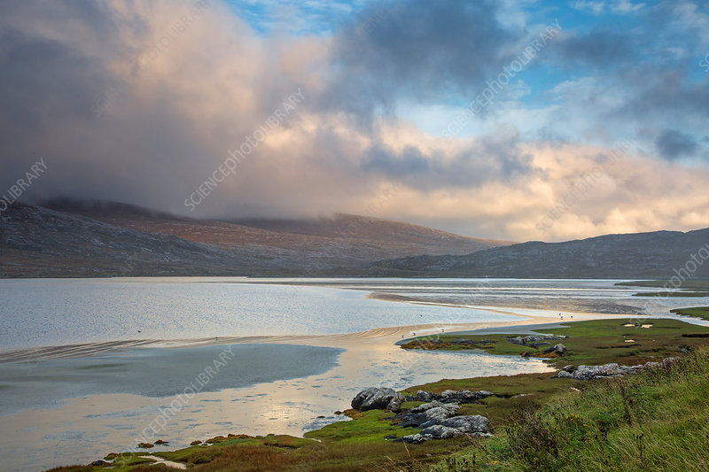 Mountains and water, Hebrides, Scotland