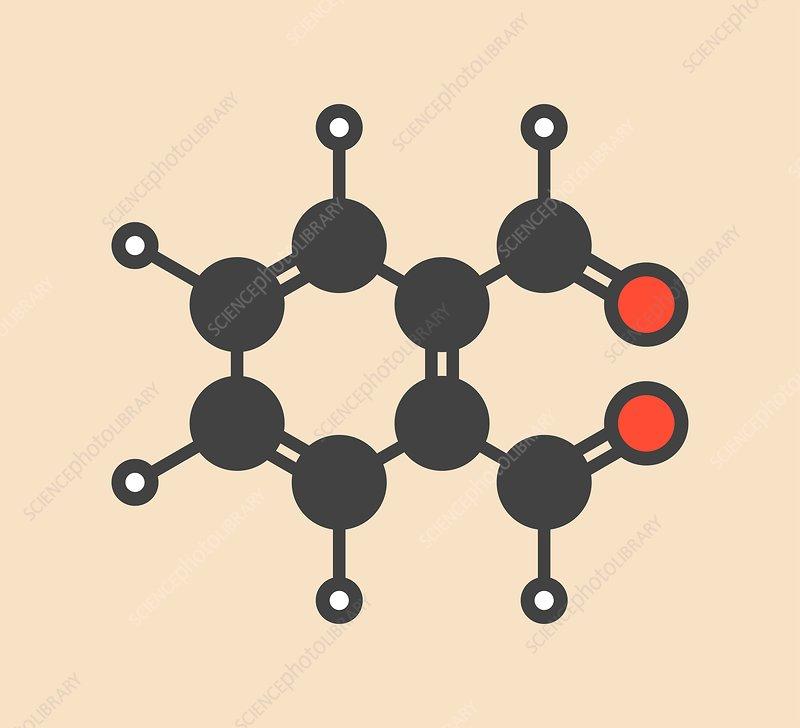 Phthalaldehyde molecule
