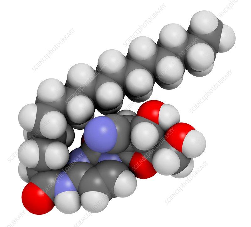 Sapacitabine cancer drug molecule