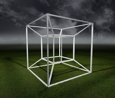 Tesseract, 4 dimensional space
