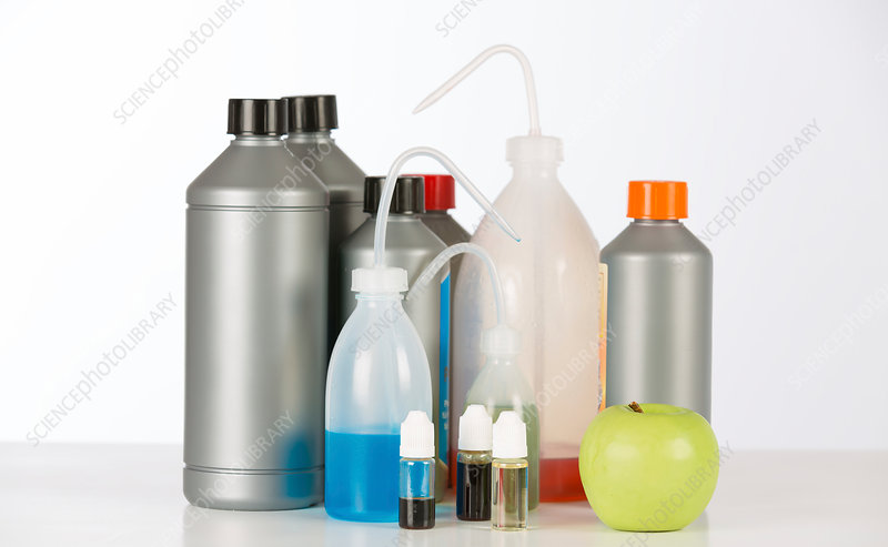 Laboratory containers and bottles