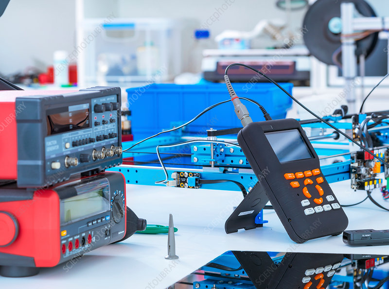 Electronics laboratory equipment and machinery