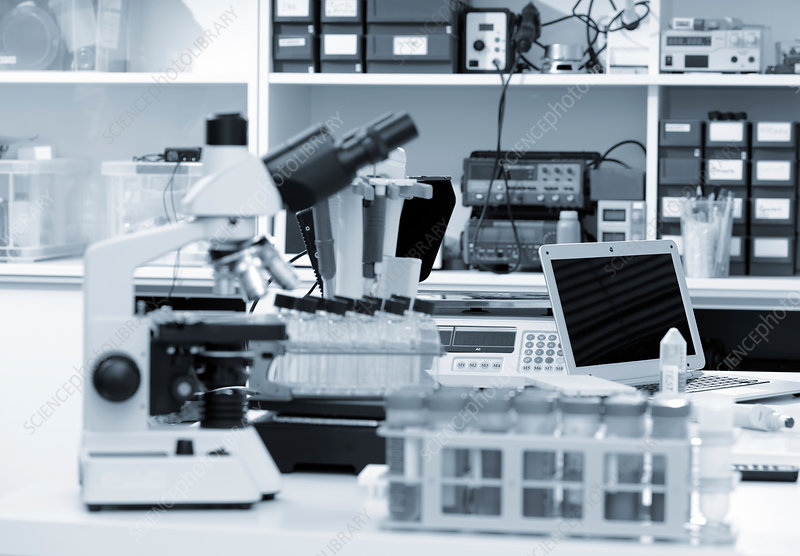 Microscope and scientific equipment