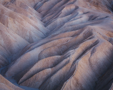 Zabriskie Point at dawn, Death Valley National Park, USA