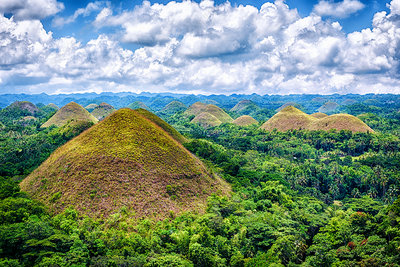 Landscape of the Bohol region, The Chocolate Hills