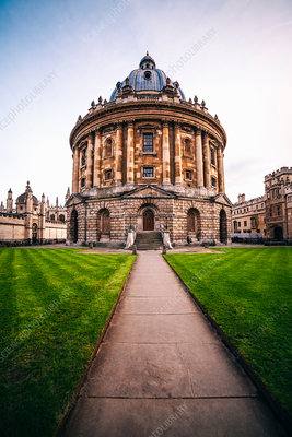 The Radcliffe Camera, a historic building in Oxford