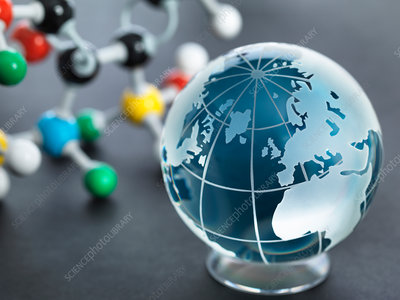Global research, conceptual image