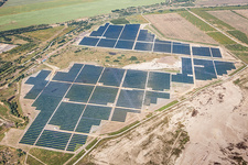 Senftenberg Solarpark, photovoltaic power plant, Germany