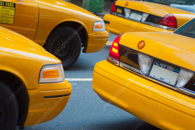 Taxicabs in New York City, USA