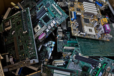 Pile of circuit boards