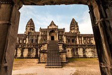 Temple in Angkor Wat, Siem Reap, Cambodia