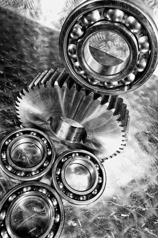 Gears and ball-bearings