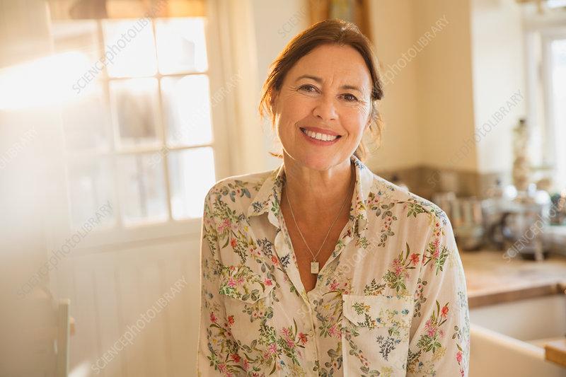Portrait mature woman
