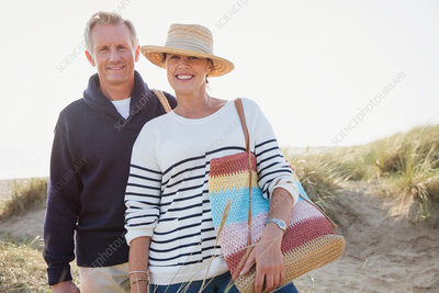 Portrait mature couple