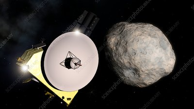 New Horizons Encounters 2014 MU69, illustration