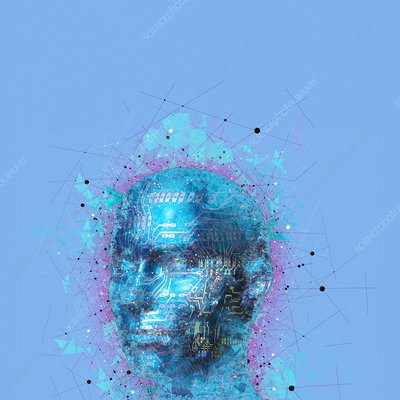 Artificial intelligence, illustration