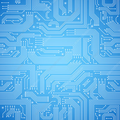 Circuit board, illustration