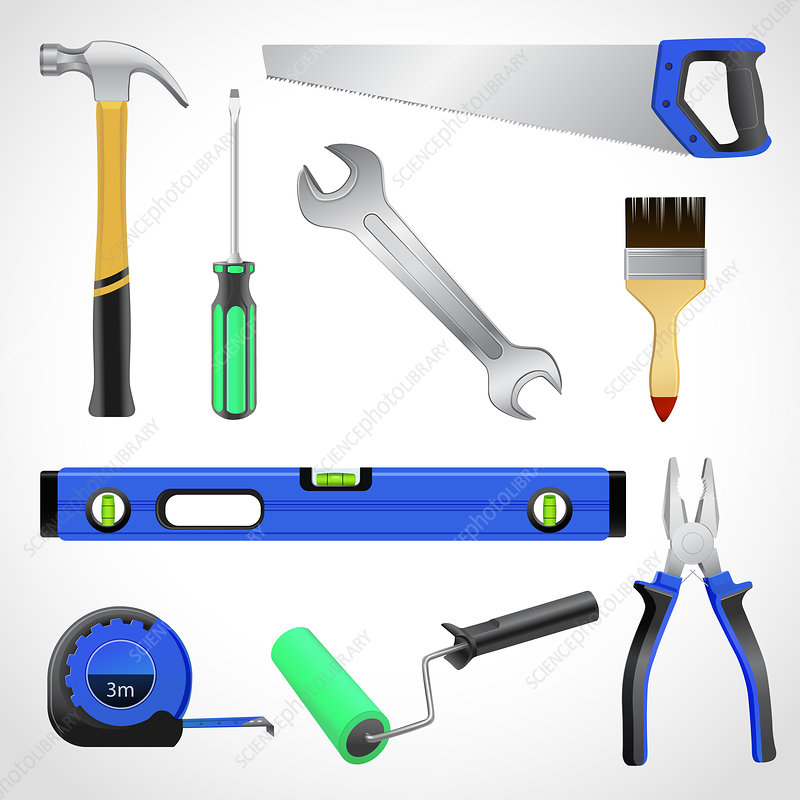 Tools, illustration