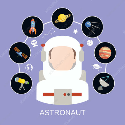 Astronaut, illustration