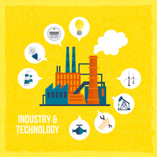 Industry, illustration