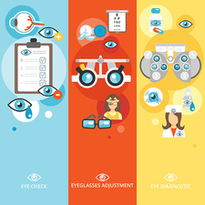 Optometry, illustration