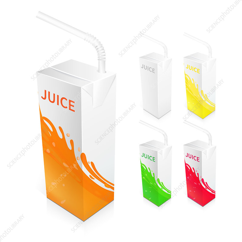 Fruit juice, illustration