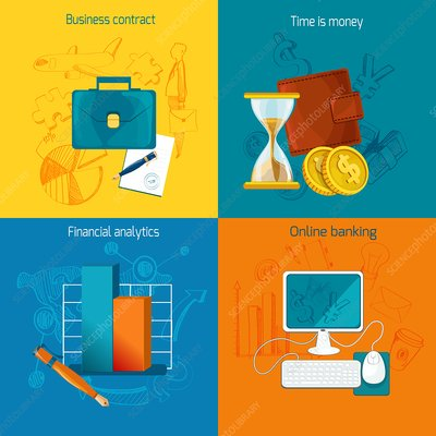 Business, illustration