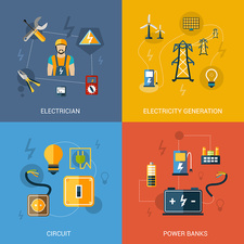Electricity, illustration