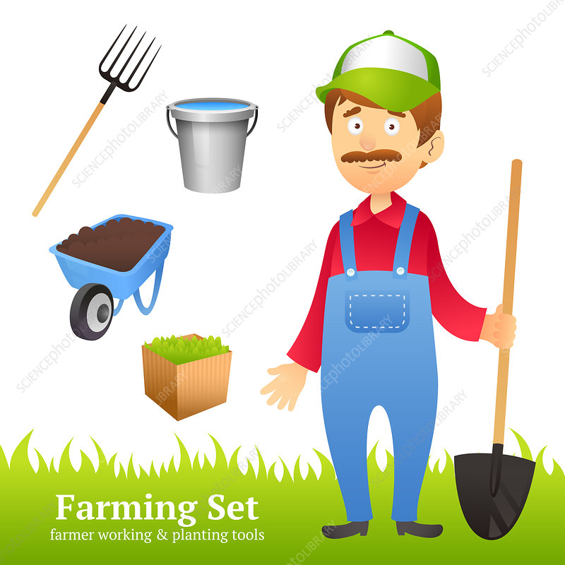 Farming, illustration