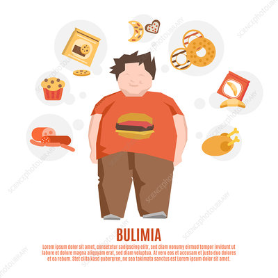 Bulimia, illustration
