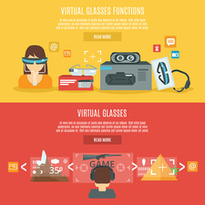 Virtual reality, illustration