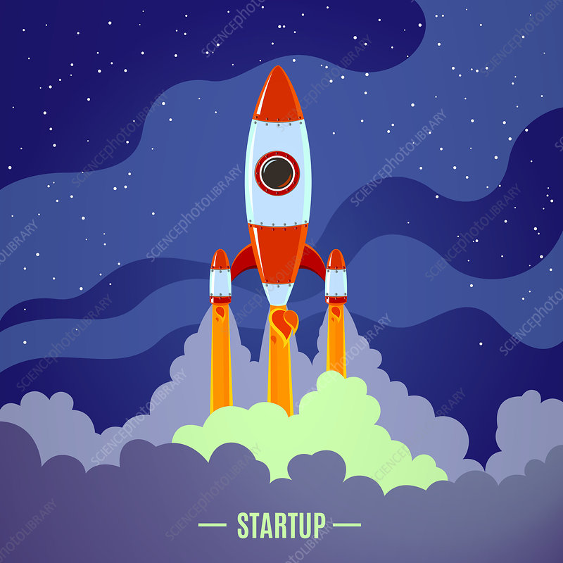 Start-up concept, illustration