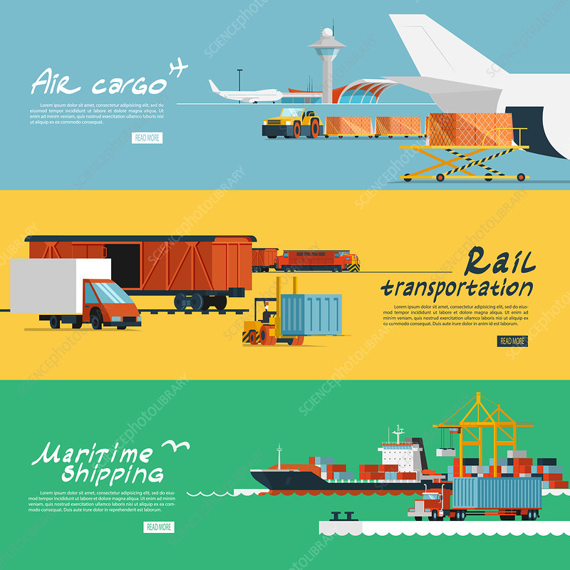 Logistics, illustration