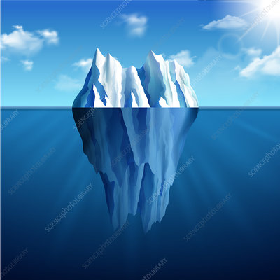 Iceberg, illustration