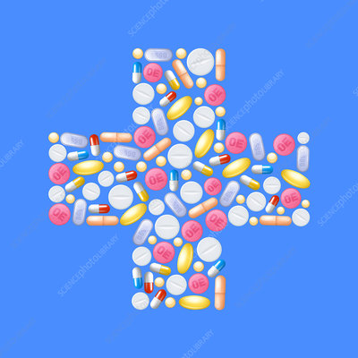 Pills, illustration